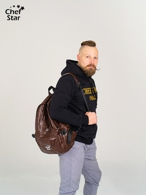 Рюкзак (Backpack), Brown, Chef Star