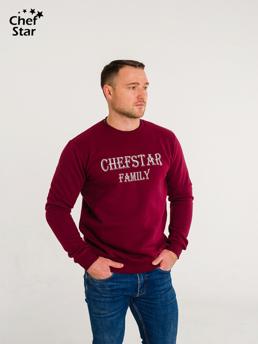 Свитшот Chef Star Family (Sweatshirt), Bordo, Chef Star