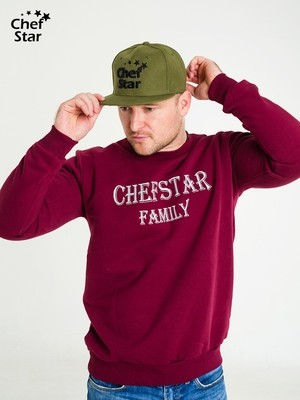 Снэпбэк (Snapback), Khaki, Chef Star