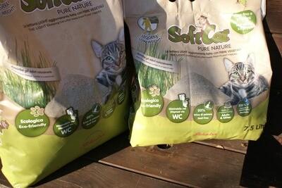 Lettiera Softcat Ecologica 7,5 lt