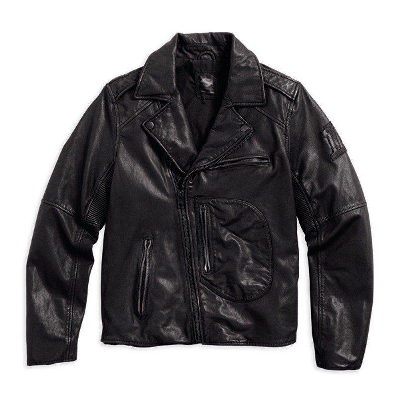 Jacket Men Leather Vintage Fashion