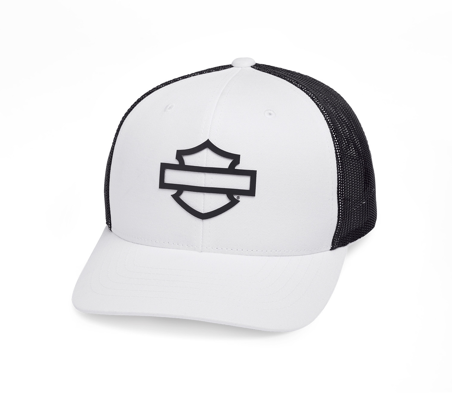Cap Men Logo Colorblock Trucker