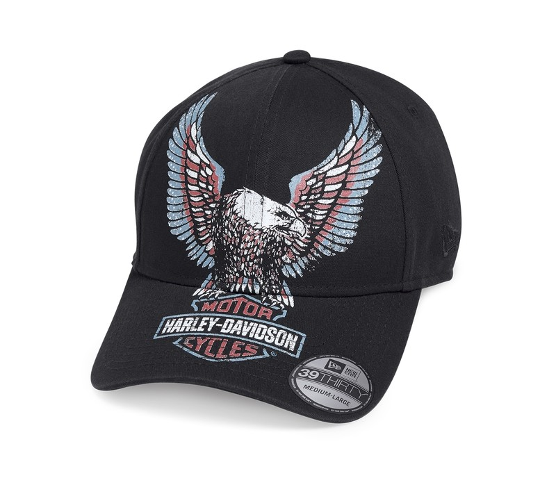 Printed Upright Eagle 39THIRTY® Cap Men