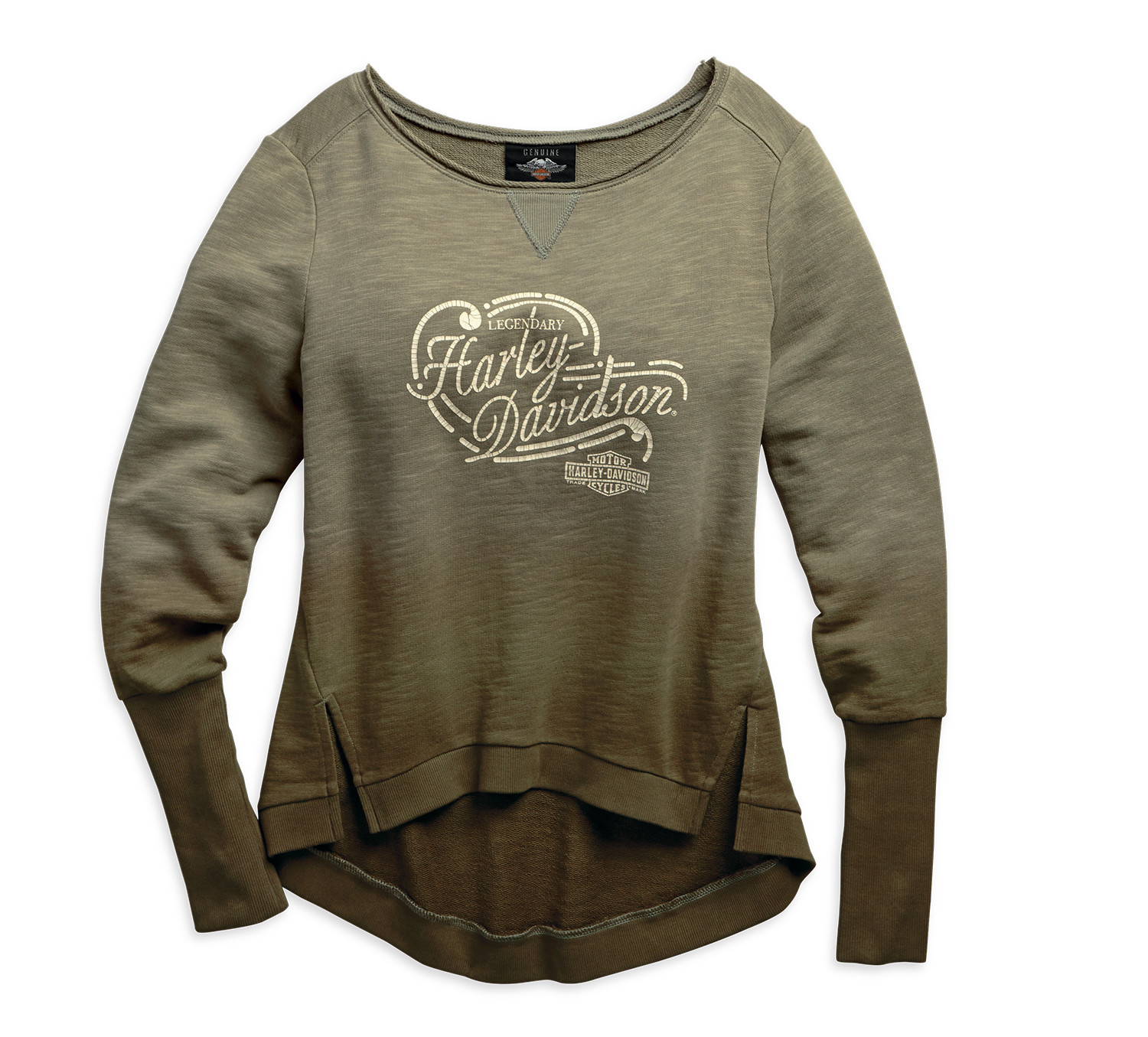Extended Cuff Pullover Women