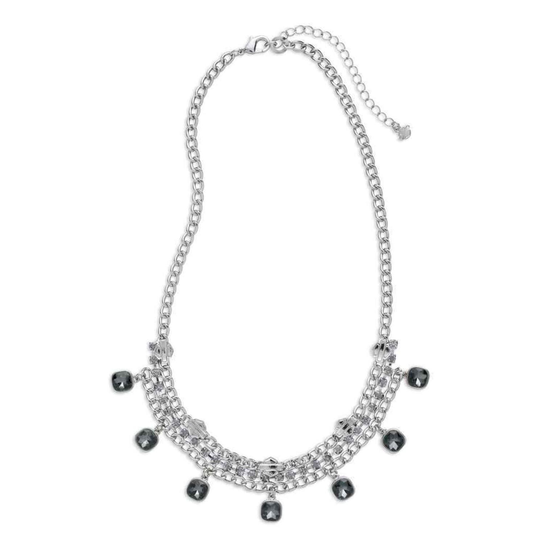 Necklace Women Smoke Rhinestone Embellished Fashion