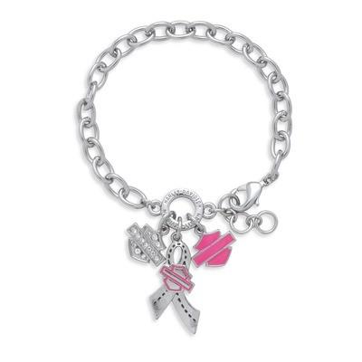 Bracelet Women Pink Label Charm
