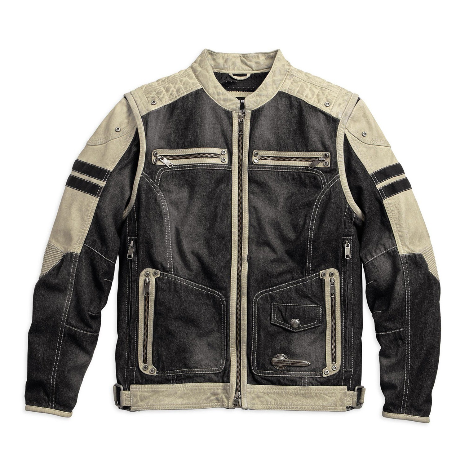 Knave Textile/Leather Riding Jacket Men