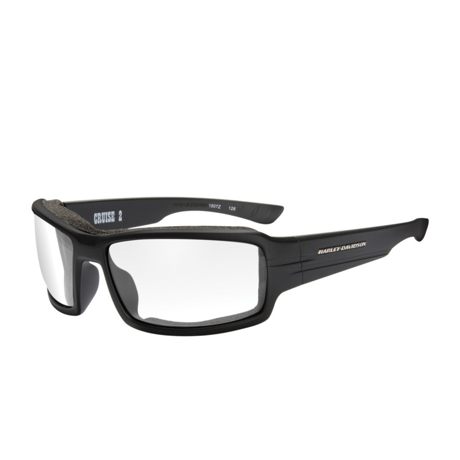 Wiley X HD Cruise 2 Clear Lenses / Matte Black Frame Biker Glasses