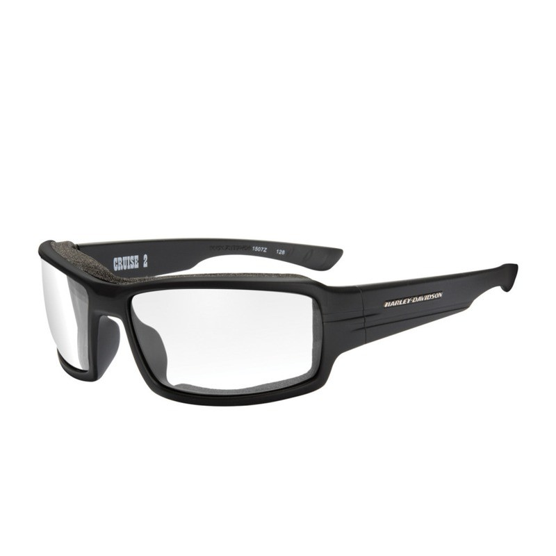 a4f68a09112c Wiley X HD Cruise 2 Clear Lenses / Matte Black Frame Biker Glasses