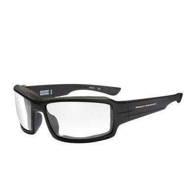 Wiley X HD Cruise 2 Clear Lenses / Matte Black Frame Biker Glasses