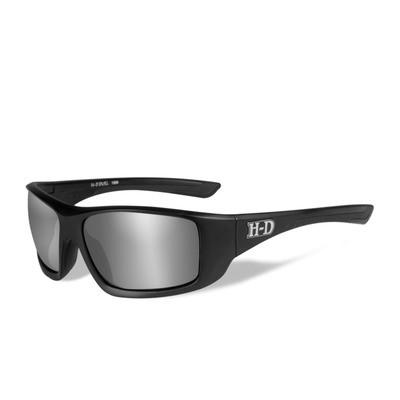 Wiley X HD Duel Silver Flash Smoke Grey Lenses / Matte Black Frame Biker Glasses