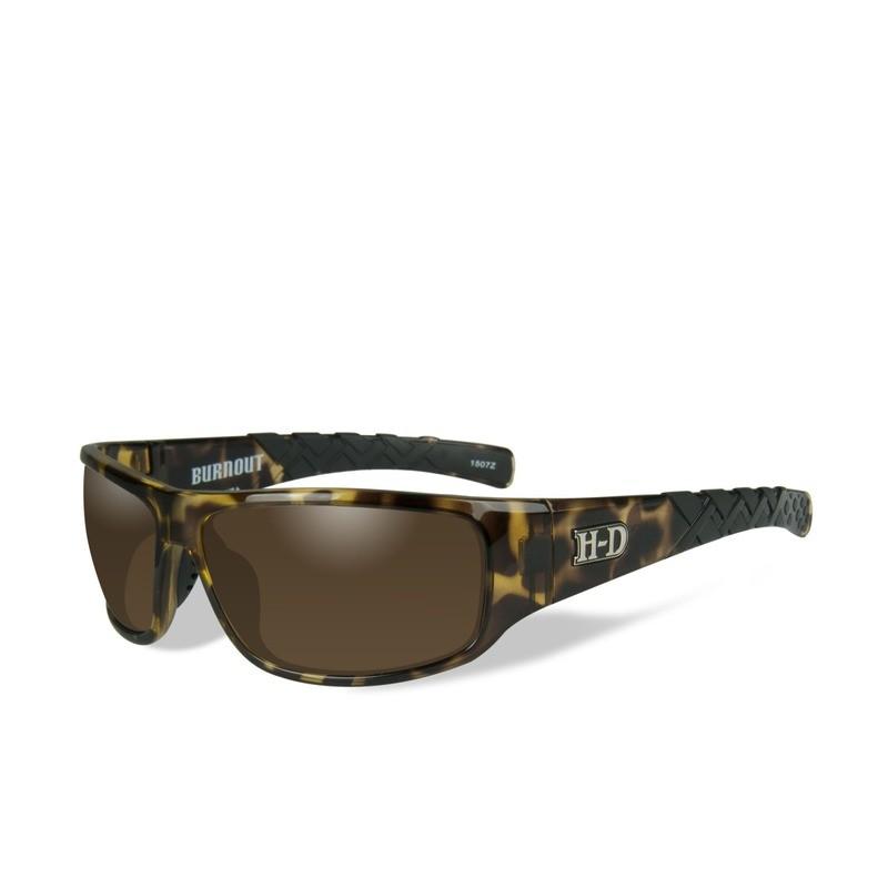 Wiley X HD Burnout Copper Lenses / Tortoise Frame Biker Glasses