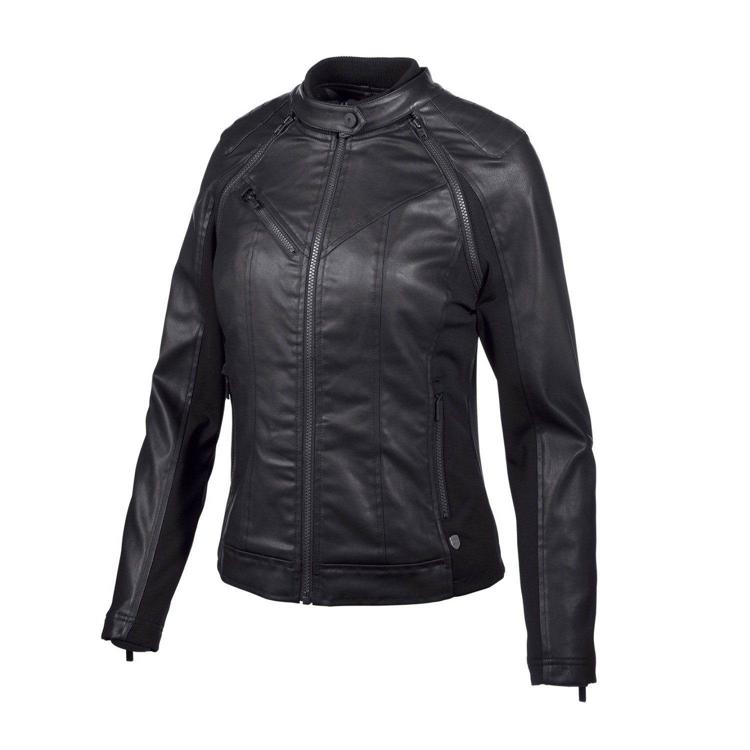 Jacket Women H-D® Moto Coated Denim Convertible