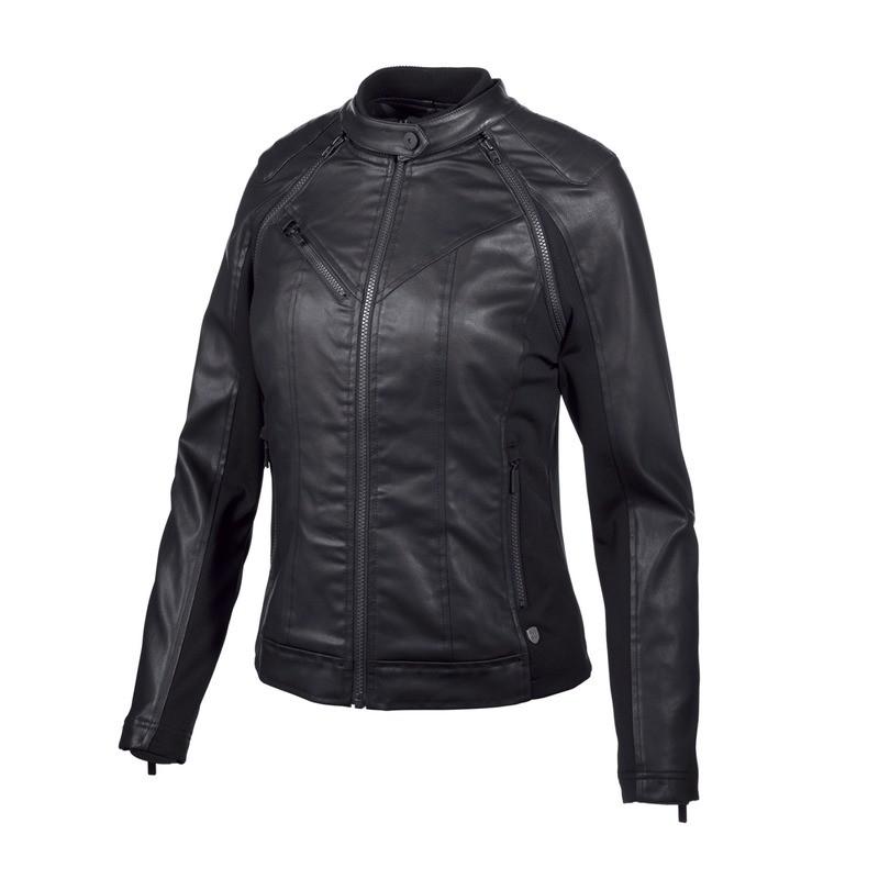 H-D® Moto Coated Denim Convertible Jacket Women