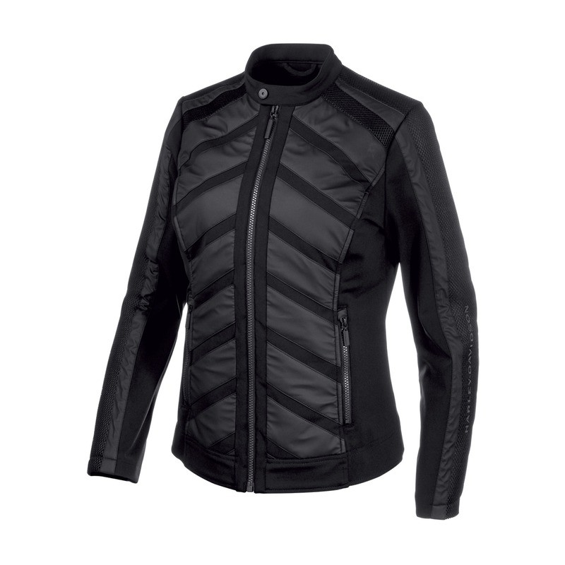 Jacket Women H-D® Moto Mixed Media Casual