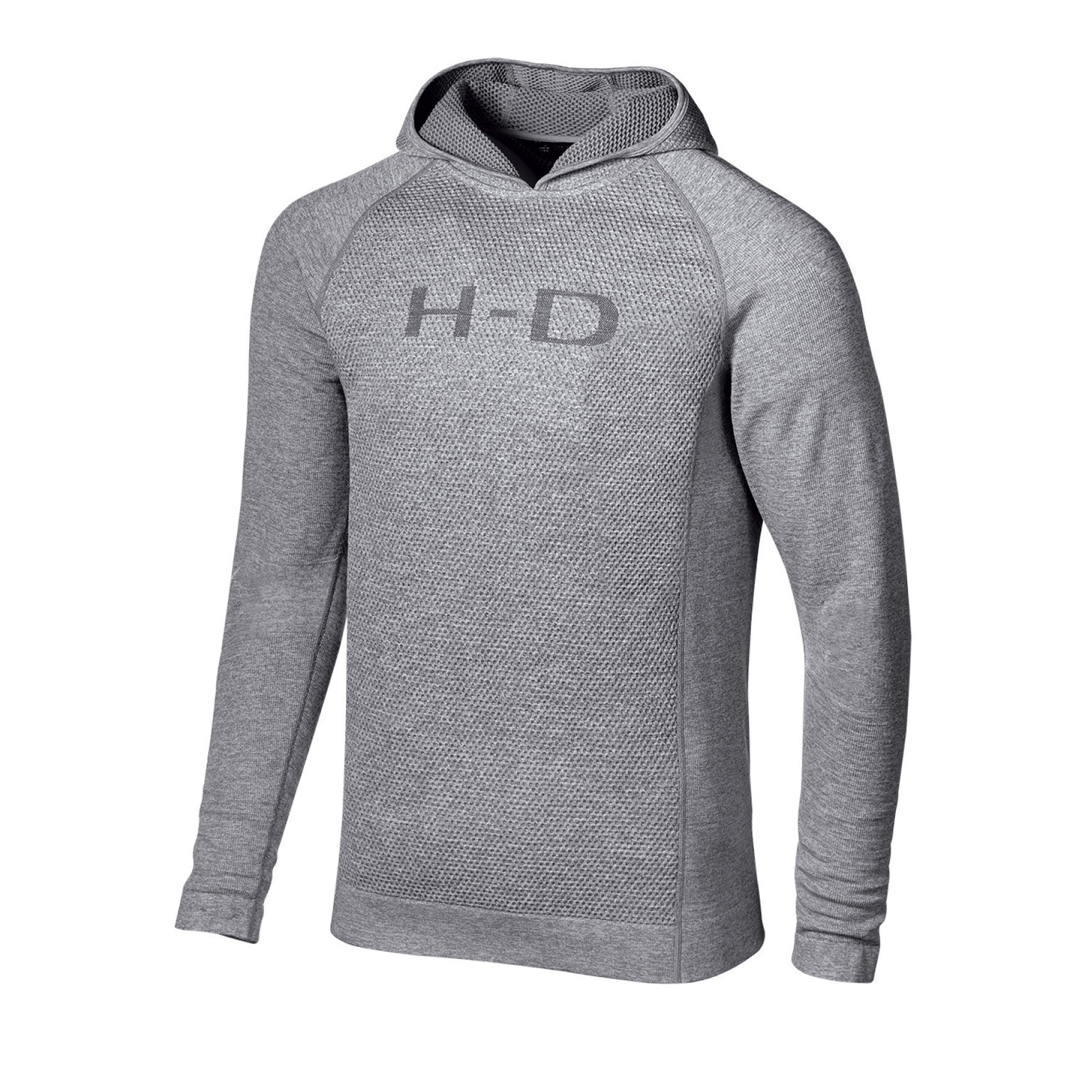 Hoodie Men H-D® Moto Mixed Knit Slim Fit