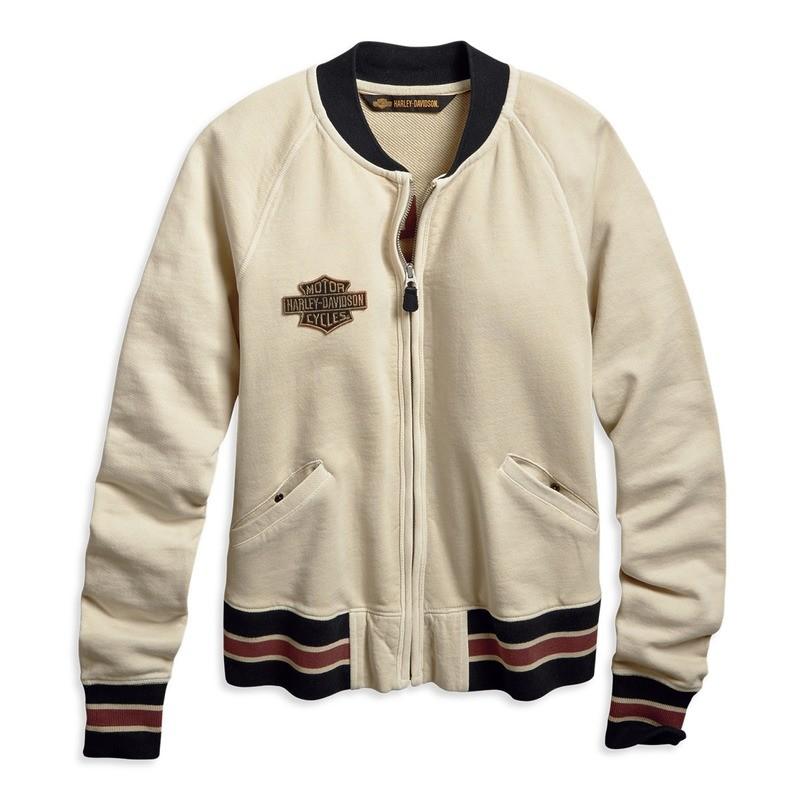 Jacket Women Sweatshirt Zipper 1903 Embroidered Activewear