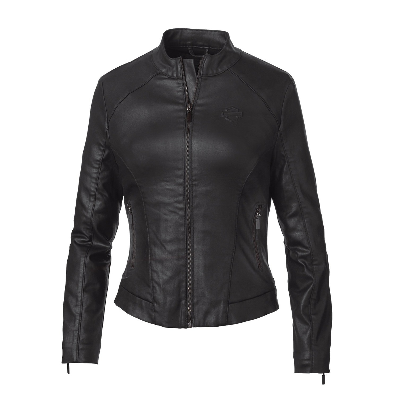 Jacket Women H-D® Moto Wing Back Coated