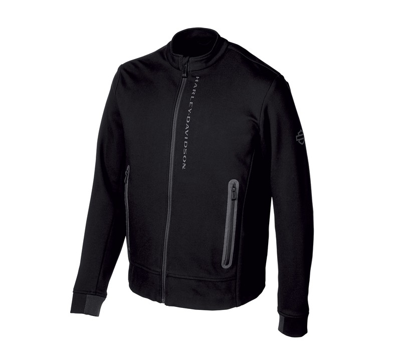 Jacket Men H-D® Moto Textile Compression Knit Slim Fit Casual