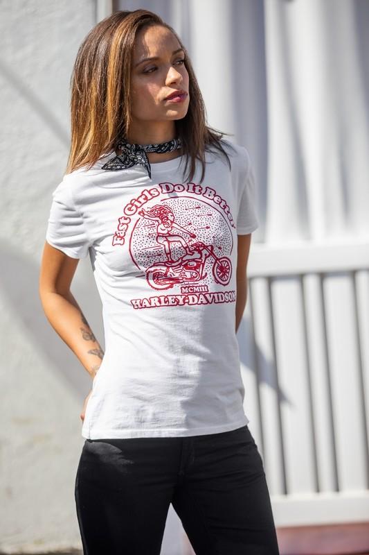 T-Shirt Women Short Sleeve Garage Fast Girls