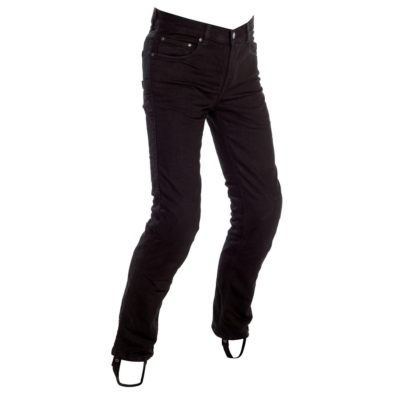 Original Black Slim Fit Riding Jeans Men - Regular
