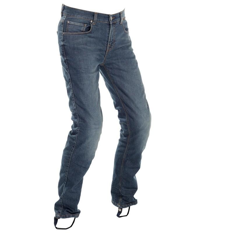 Original Washed Blue Slim Fit Riding Jeans Men - Regular