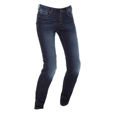 Jeans Women Riding Skinny Lady Sea Blue - Regular
