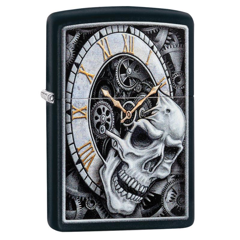 ZIPPO Skull Clock
