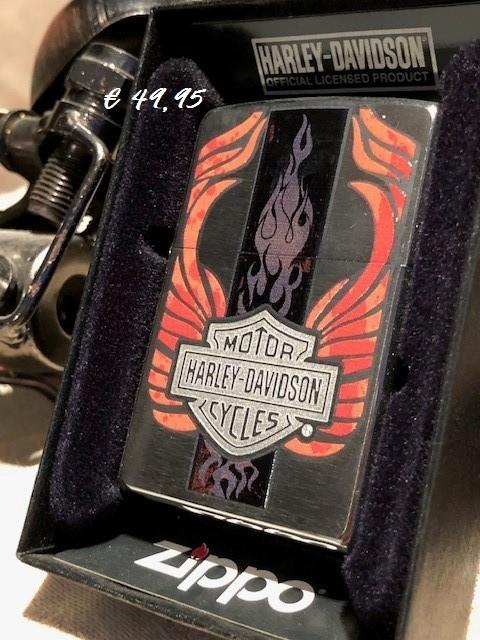 ZIPPO Harley-Davidson® Orange Flames