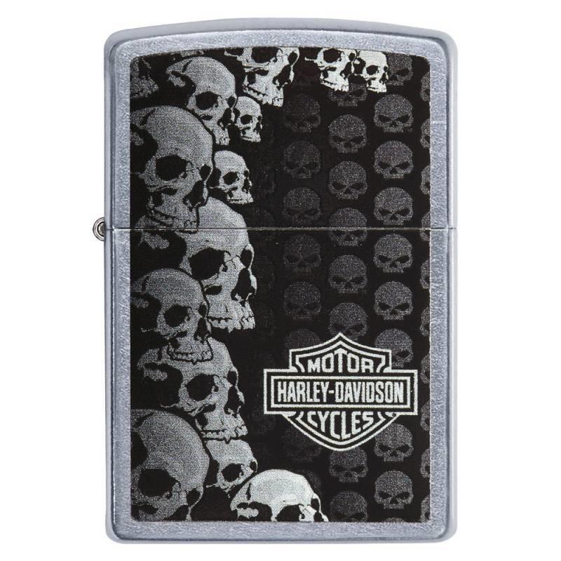 ZIPPO Harley-Davidson® Street Chrome Skull