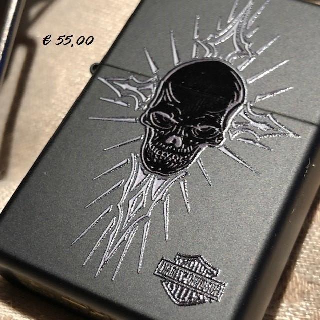 ZIPPO Harley-Davidson® Skull Black