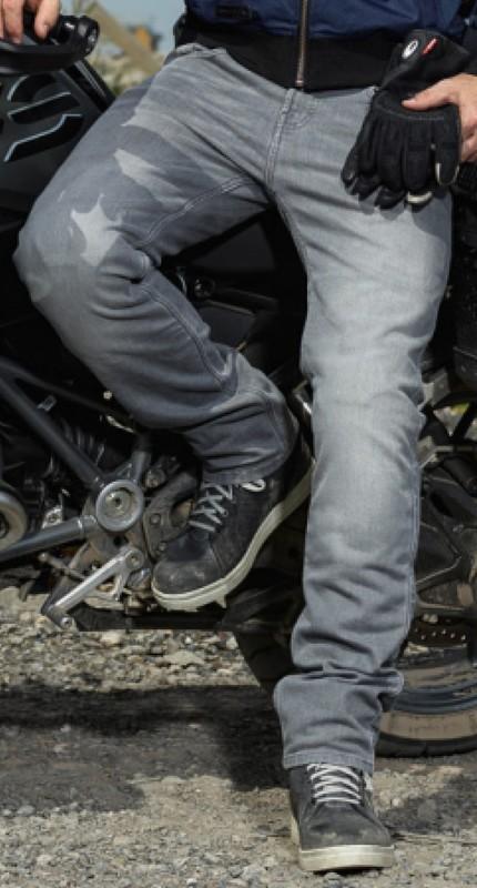 Jeans Men Riding Lou Washed Grey - Short