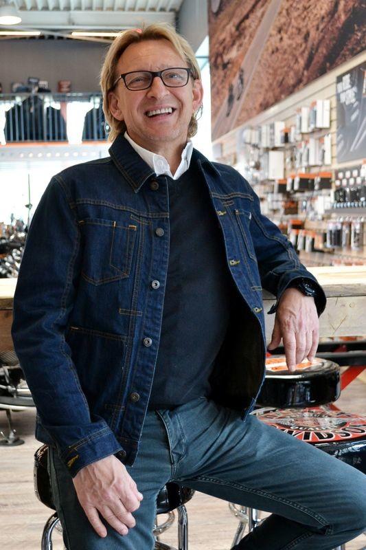 Jacket Men Denim Black Label Raw Trucker