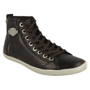 Oberlin Brown Leather Sneakers Men