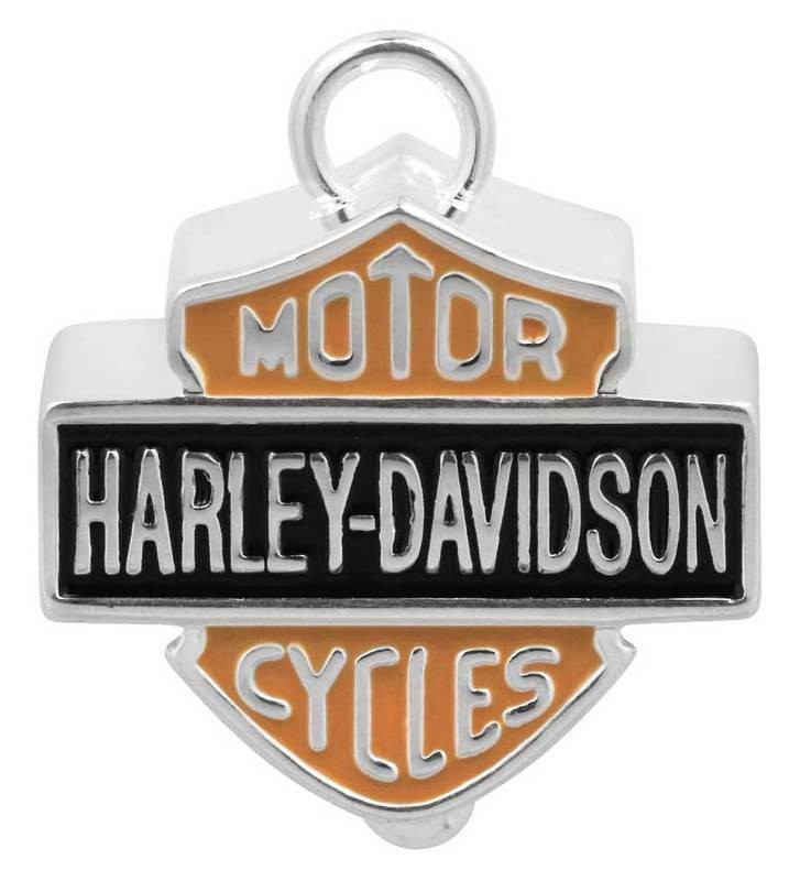 Harley-Davidson® Ride Bell Big B&S Orange & Black