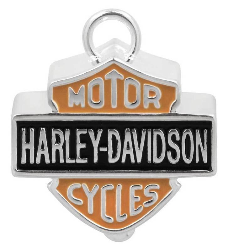 Ride Bell Harley-Davidson® Big B&S Orange & Black