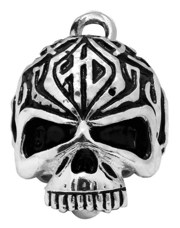 Harley-Davidson® Ride Bell Sculped Tribal Skull