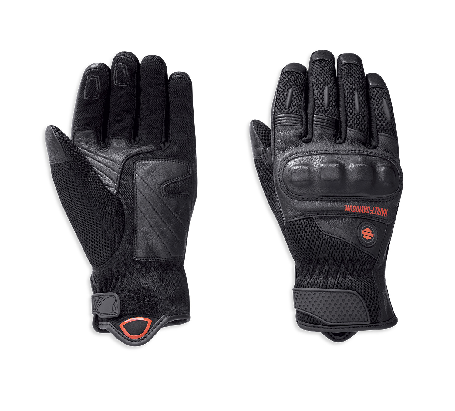 Gloves Men Woodcreek Leather & Mesh