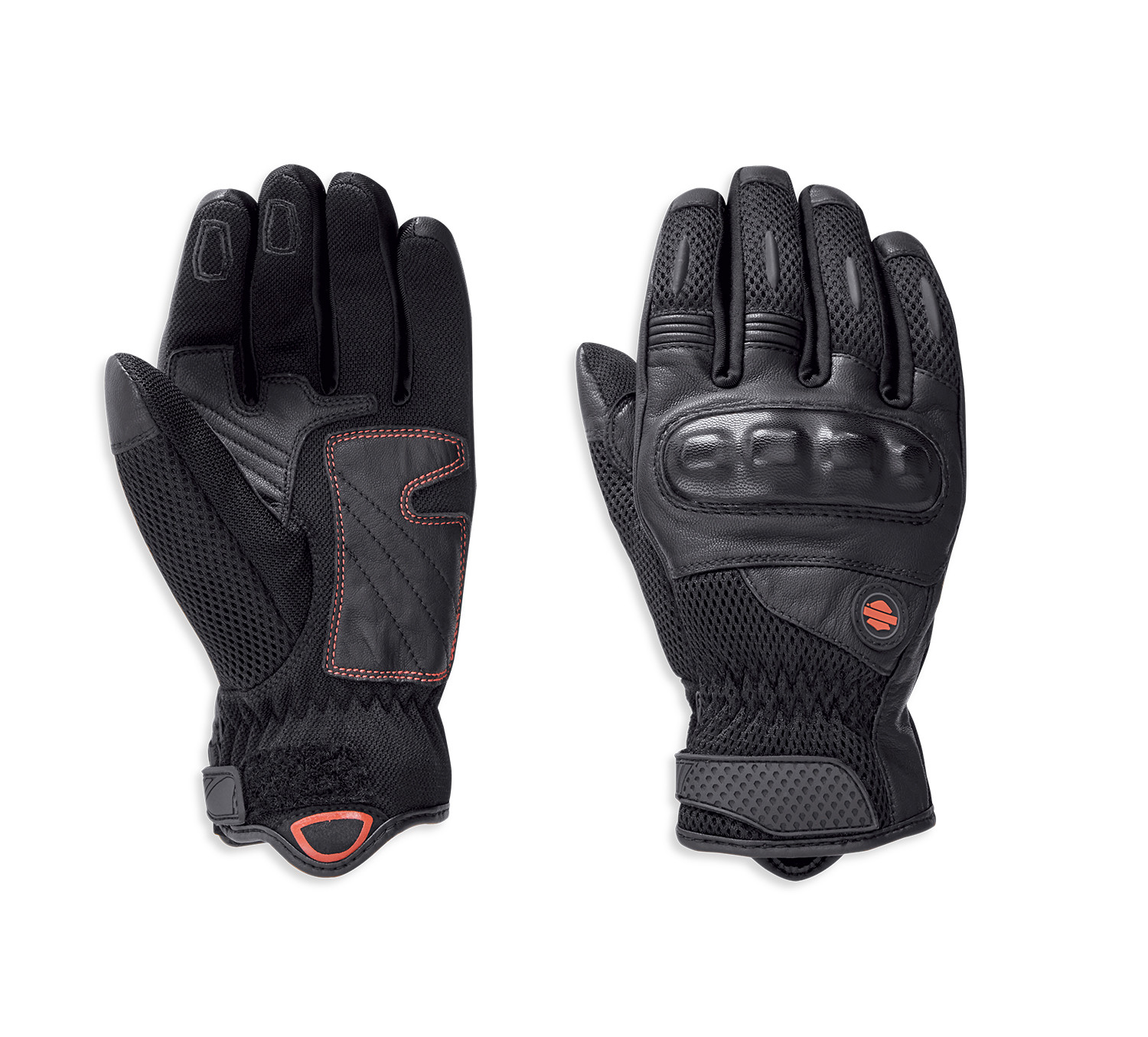 Kendleton Leather & Mesh Gloves Women