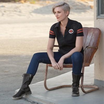 Shirt Women Short Sleeve Performance Mesh Shoulder