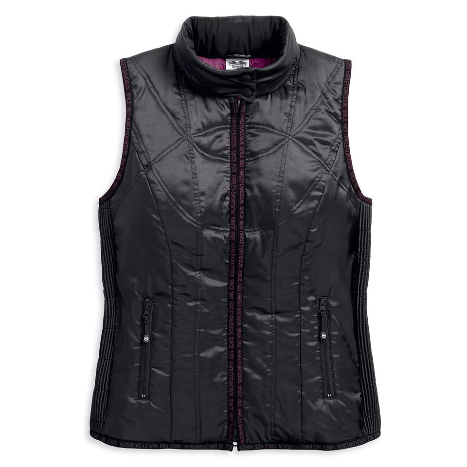 Vest Women Lightweight Hooded Puffer