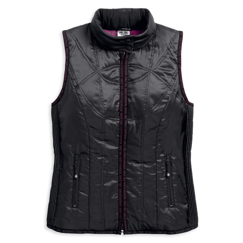 Lightweight Hooded Puffer Vest Women