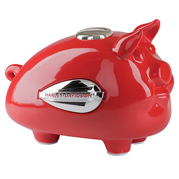 Gadget Hog Bank Tank Graphic Red - Medium