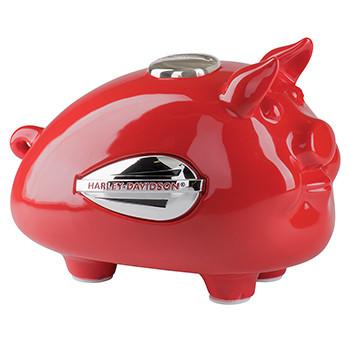 Gadget Hog Bank Tank Graphic Red - Medium