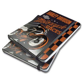 Gadget Paper H-D® Motorcycle Races - Journal