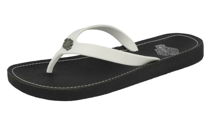 White Sandals Thong Cabrini Women
