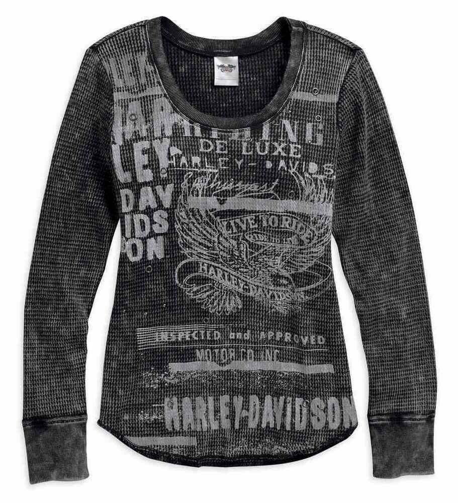 Mineral Wash Waffle Knit Long Sleeve Shirt Women