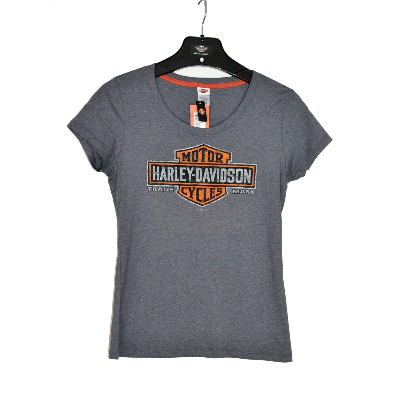 Shine Dark Scoop Short Sleeve Backprint T-Shirt Women