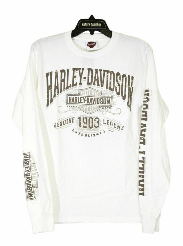 T-Shirt Men Long Sleeve Backprint Vintage