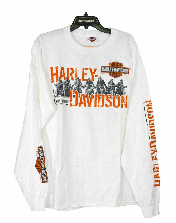 Ride Group Long Sleeve Backprint T-Shirt Men